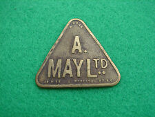 Market Token A May 5 Shillings Triangle Shaped Global Shipping