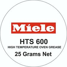 Miele HTS 600 High Temperature Grease for Oven Telescopic Runners - 25 Grams