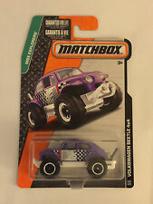 Purple VOLKSWAGEN BEETLE 4X4 - 2015 Matchbox Die Cast Car - Mint on Card