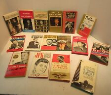Lot Of 16 President John F. Kennedy Books A Tribute PT 109 Profiles In Courage