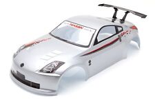 RCG Racing Nissan 350z Body Shell 190mm Argent