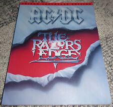 AC/DC THE RAZORS EDGE 1990 AMSCO GUITAR TAB SHEET MUSIC BOOK
