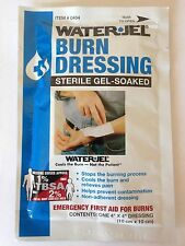 "Water Jel 4"" x 4"" First Aid Burn Dressing"