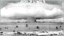 Poster Print High Resolution: A-Bomb Baker Detonation: Bikini Atoll - Wide Field