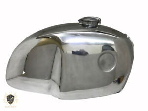 BMW R100 RT RS R90 R80 R75 POLISHED ALUMINUM PETROL TANK WITH CAP |Fit For