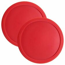 "3.25"" Full Size Air Hockey Pucks for Large Air Hockey Tables, 2-pack"