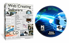 Windows CD Web Design/HTML Editor Computer Software