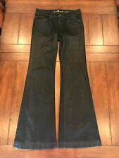 7 For All Mankind black Ginger jeans