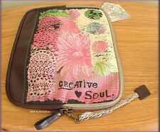 """CREATIVE SOUL TABLET COVER BY KELLY RAE ROBERTS 10.5"""" x 8.5""""  FREE U.S. SHIPPING"""