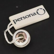 Sterling Silver - PERSONA Ice Queen White Bracelet Charm Bead - 3.5g