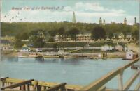 Postcard General View of the Highlands NJ