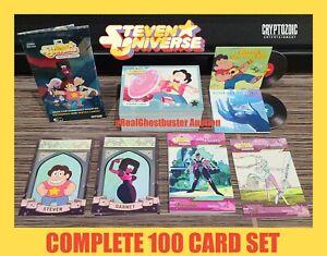 2019 Cryptozoic Steven Universe Complete 100 Card Set - Base Set & 3 Subsets