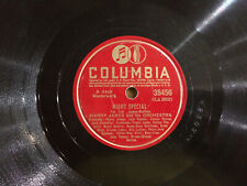 "Harry James Back Beat Boogie / Night Special Columbia 35456 78rpm 10"" VG 1940"