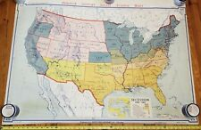 Denoyer-Geppert Map American Secession 1860-1861 (A-1954)