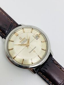 Vintage Rare Omega Automatic Constellation PIE PAN Cross Hair Line Dial 168.004