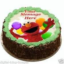 Elmo Cake topper edible image icing   REAL FONDANT