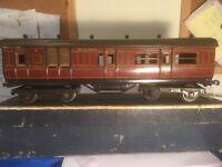 bassett lowke o gauge coach