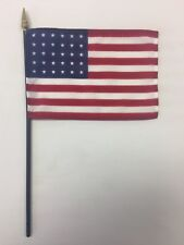 "U.S. United States 30 Star 1848 - 1851 Historical Miniature Desk Flag 4"" X 6"""