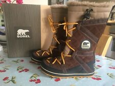 Sorel Glacy Explorer Boots Size 6 Worn Once