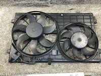 VW AUDI SEAT SKODA ENGINE COOLING TWIN RADIATOR FAN 1K0121207T