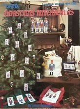Christmas Nutcrackers Leisure Arts Cross Stitch Pattern 2036