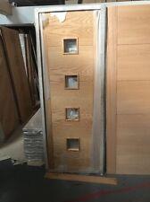 Vancouver Palmyra4G Palermo Oak Prefinished Internal Doors Glazed £150(Rrp£245)