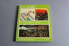 X525 UNIDE Train catalogue1975 88 p la gare une grande maquette à construire