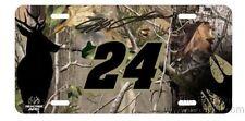 Jeff Gordon #24 Camo Realtree Metal Tag License Plate Nascar Racing