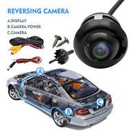 360° Mini CCD Caméra de voiture auto caméra de recul étanche IP67 HD noir