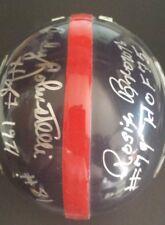 ANDY ROBUSTELLI / ROSIE BROWN Autographed New York Giants Mini Helmet ~ HOFers
