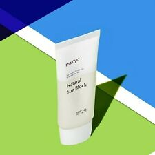 Manyo Factory Treatment Essence Natural Sunblock 50g Spf29 Pa+ .K-Beauty