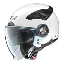 CASCO DEMI-JET NOLAN N33 EVO CLASSIC 2 Metal White TAGLIA S