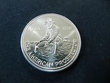 1 - 1 oz. 999 Fine Silver Round - 1986 Engelhard Prospector Round BU- in Capsule