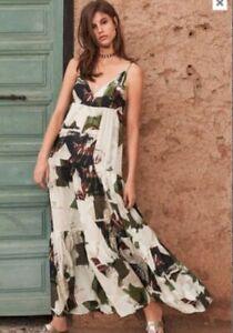 NEXT Dress Maxi Floaty Summer Evening Beach BNWOT UK 8