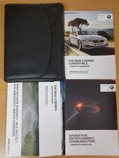 BMW 4 SERIES CONVERTIBLE F33 2013-2017 HANDBOOK OWNERS MANUAL WALLET # E-322