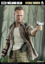 The Walking Dead Merle Dixon Sixth Scale Action Figure Threezero Zombie TV Serie