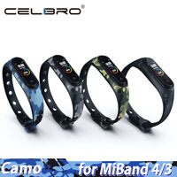 Watch Band For Xiaomi Mi Band 4 3 Strap Replacement Wristband Rubber Bracelet