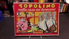 """Grandi storie Disney #07 """"Topolino nella Casa dei Fantasmi"""" Mondadori 1968"""