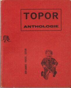 RARE EO 1961 2ème LIVRE DE ROLAND TOPOR + DÉDICACE NON NOMINATIVE : ANTHOLOGIE