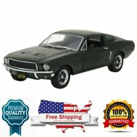 model car Bullitt 1968 Ford Mustang GT Fastback  green 1:24 Scale