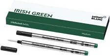 Montblanc Rollerball Medium Refill - Pack of 2 Irish Green 124486