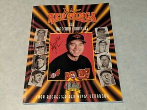 THE ROCHESTER RED WINGS 1999 Minor League Baseball Yearbook Twins Farm Team Book
