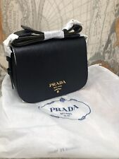 Auth NWT PRADA SAFFIANO 1BD192 Leather Crossbody Medium Shoulder Bag