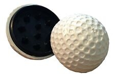 Acrylic Golf Ball Herb Spice Tobacco Magnetic Grinder FREE SAME DAY SHIPPING!!