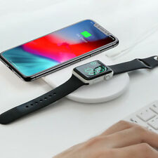 Baseus Fast Wireless Charger Dock 2 in 1 For iPhone X Xs Max XR and Apple Watch