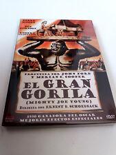 """DVD """"EL GRAN GORILA"""" COMO NUEVO ERNEST B. SCHOEDSACK TERRY MOORE BEN JOHNSON"""