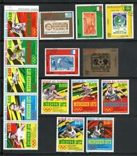 KL5499 Paraguay Summer Olympics - Full Page of 3 Sets - 15 Different Stamps