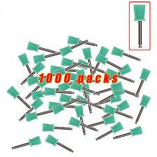 1000pcs Dental Latch Type Polishing Polisher Prophy Cups Rubber Green JM-D