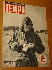 TEMPO 1942/186=HARALD KREUTZBERG=FIORENZO TOMEA=ALFREDO GUARINI=BRANCATI VITALIA