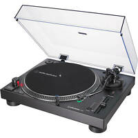 Audio-Technica 3-Speed Direct Drive Stereo Turntable - Black